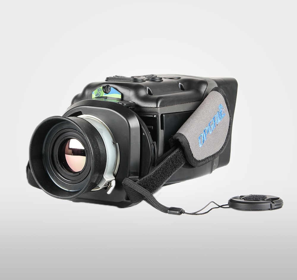 Thermal imager for locating gas leaks