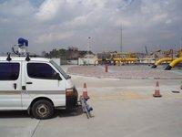 Vehicle Methane Detector.